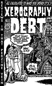 XEROGRAPHY DEBT #15 COVER